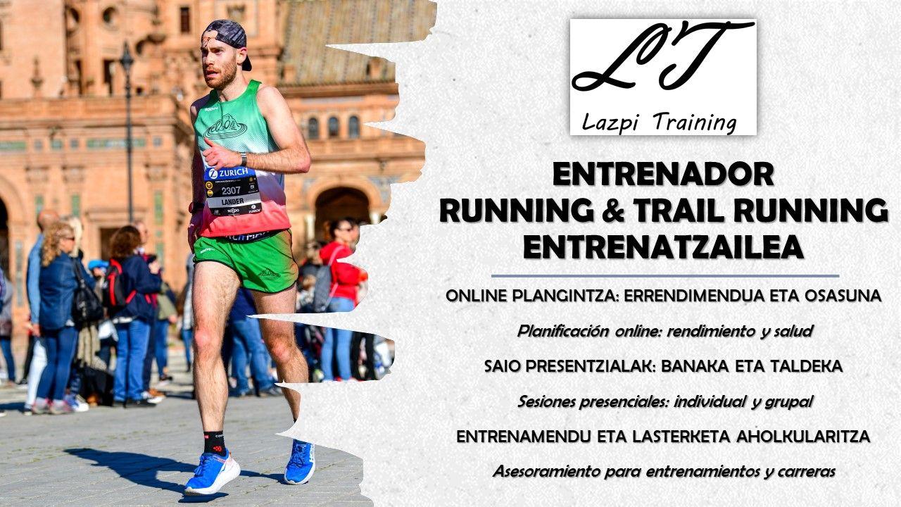 Running eta Trail Running entrenatzailea irudia - iragarkilaburrak.eus
