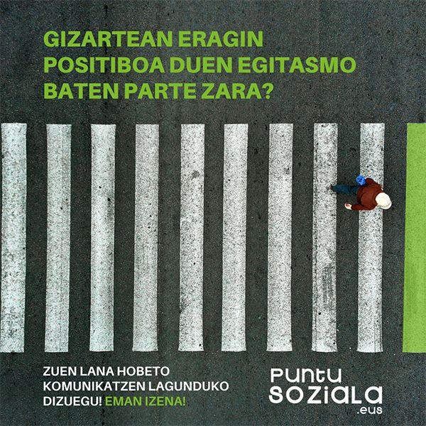 Puntu Soziala egitasmoa 2021-22: izen ematea zabalik! irudia - iragarkilaburrak.eus