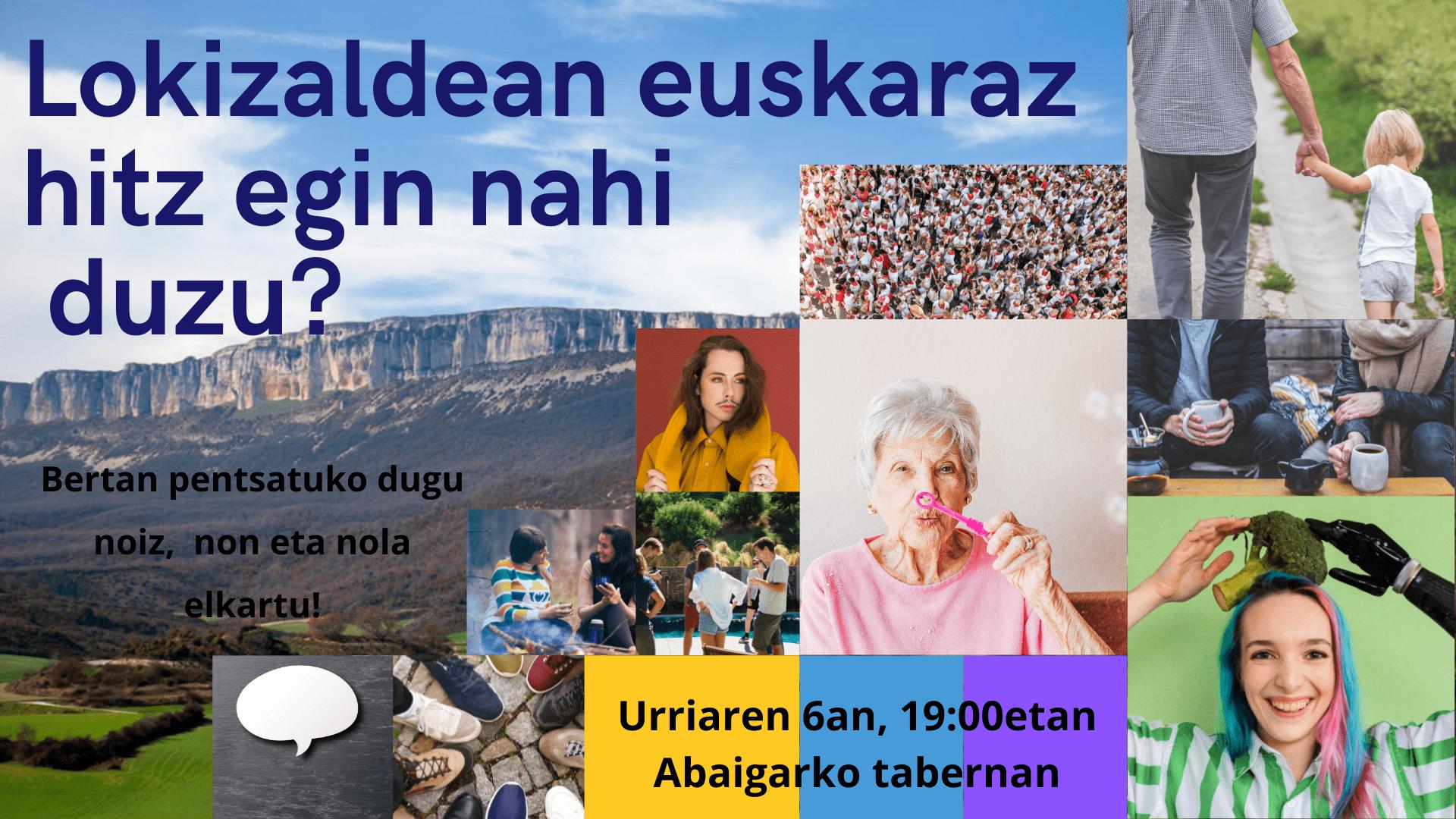 Lokizaldean euskaraz aritu nahi? irudia - iragarkilaburrak.eus